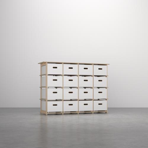 16boxes - (4x4) Fourbyfour - Birch + Boxes